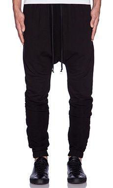 knomadik by Daniel Patrick Roaming Jogger in Black