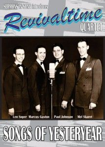 Revivaltime Quartet: cover design by Todd Aune now available for sale everywhere at http://www.revivaltimesongs.com/