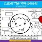 $ - I made this label sheet for Kindergarten students to use when learning about the 5 senses.  This would be helpful to use when teaching science in A...