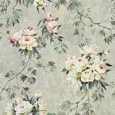floreale grande - zinc fabric | Designers Guild