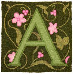 Englobando Designs - do tapete de enganche ABC