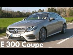 2018 Mercedes E 300 Coupe - Larger and more Luxurious Mercedes E Class Coupe, Best Luxury Cars, Interior And Exterior, Larger, Youtube, Youtubers, Youtube Movies