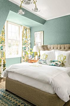 50th Anniversary Idea House:  Dillard's Bedroom Designed by Elly Poston