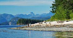 Natural beauty on Quadra Island Discovery Island, Bay Lake, O Canada, British Columbia, Kayaking, Natural Beauty, Tours, Vacation, Mountains