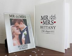 Mr & Mrs range by Personalised Memento Company www.personalisedmemento.co.uk