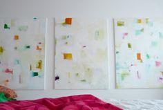 Dans le Townhouse: DIY Paintings - Revamped