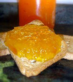 Mermelada de melocotón, muy buena y fácil de hacer en casa - El Aderezo - Blog de Recetas de Cocina Chutney, Salsa Dulce, Sweet Sauce, How To Make Cheese, Marmalade, Meatloaf, Yogurt, Jelly, Panna Cotta
