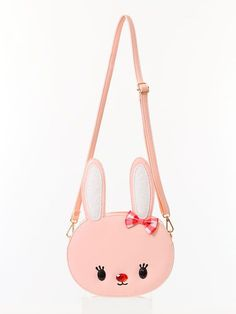 sweet lolita bag / Kawaii Bunny Bag / rabbit bag by Kawaii Bunny, Kawaii Bags, Cute Purses, Purses And Bags, Kawai Japan, Bunny Bags, Novelty Bags, Animal Bag, Sweet Bags