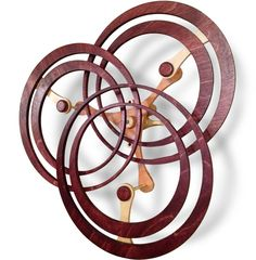 Annulation - A Kinetic Wooden Sculpture Mobile Sculpture, Sculpture Art, Metal Art, Wood Art, Wooden Gears, Wind Sculptures, Kinetic Art, Wood Clocks, Woodworking Furniture