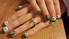 Saskatchewan Rough Rider nails by A Touch of Spring