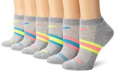 Saucony Women's 6-Pack Performance Arch Stripe No Show Socks, Grey Assorted, Medium Saucony http://www.amazon.com/dp/B00GN6CRL0/ref=cm_sw_r_pi_dp_lxHzvb0EQY7S5