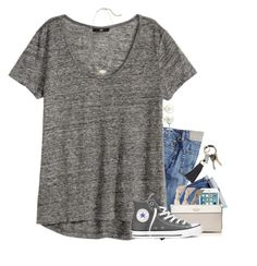 """""""ootd for a youth group activity!!!"""" by sdyerrtx ❤ liked on Polyvore featuring CB2, Emi-Jay, Kate Spade, Converse, Kendra Scott and BERRICLE"""