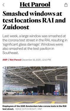 Large Windows, Amsterdam, News, Corona, Big Windows