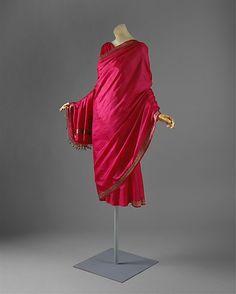 Dress Madame Grès (Alix Barton)  (French, Paris 1903–1993 Var region) Date: ca. 1960  Culture: French  Medium: silk