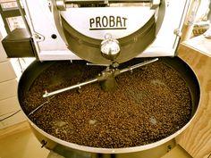 Vintage probat coffee roaster