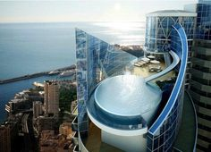 Tour Odeon, Penthouse in Monaco - The world's most expensive penthouse - $250000000