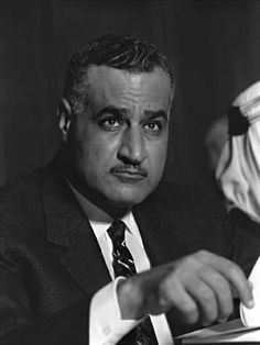 Gamal Abdel Nasser, President of Egypt managed to nationalise the Suez Canal as well as exert Egyptian influence in the Middle East despite serious losses in Arab-Israeli War of 1967.