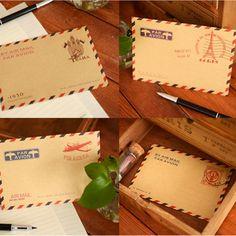 20 pcs/lot (1 bag ) Mini Retro Vintage Paper Envelope Fashion Cute Kawaii Korean Stationery Wholesale Free shipping 254