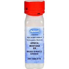 Hylands Arnica Montana 6x - 250 Tablets