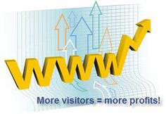 World Wide Web is the most effective method available for global communication today or you can also say that cyberspace is in fact the new business frontier nowadays. Know how we can get more Visitors to make more profit.