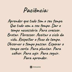 #paciência