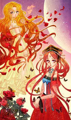 Kakyuu and Galaxia by ~Kanou on deviantART