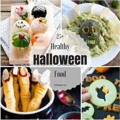 25+ Healthy Halloween Food Healthy Halloween, Halloween Recipe, Halloween Desserts, Halloween Food For Party, Halloween Treats, Holiday Foods, Holiday Recipes, Holiday Ideas, Halloween Deviled Eggs