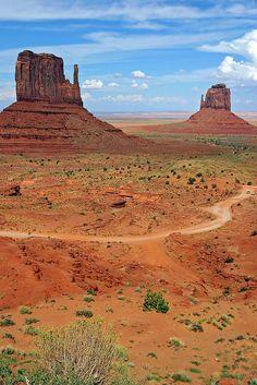 The Mittens, Monument Valley, Navajo County, Arizona