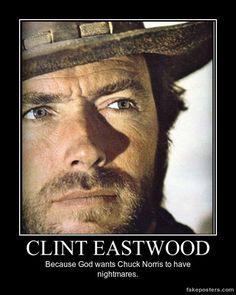 Clint Eastwood - Demotivational Poster