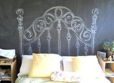Chalk Headboard