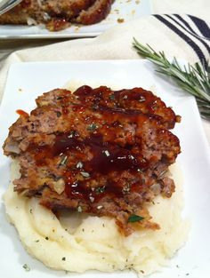 Brown Sugar Meatloaf – Not your Grandma's Meatloaf, but just as amazing!