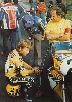 Kenny Roberts and his Tuner Kel Carruthers