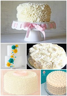 Five Ways to Amaze - Cake Decorating Tutorials Collage