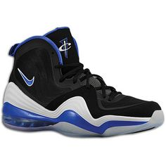 quality design 0c4aa c126a Nike Air Penny V - Men s - Basketball - Shoes - Hardaway, Anfernee - Black  White Game Royal (Size