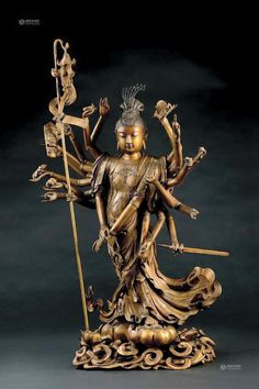 Sculpture Art, Sculptures, Buddha Zen, Thai Art, Goddess Art, Guanyin, Buddhist Art, Asia, Illustrations And Posters