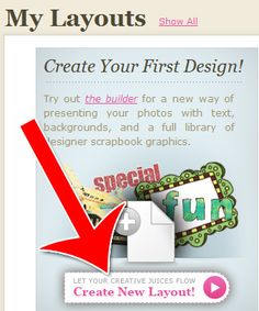 easy-to-use website that allows you to collect your photos, upload them, and then create unique scrapbooks in their intuitive online interface. Once you've created your scrapbooks, you can share them with your friends and family by email. The online scrapbooks you create at CropMom can be the basis for your future video scrapbooks (photo slideshows with music).    Here's how to use CropMom to create beautiful layouts and scrapbooks.