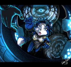 Krystal Falling Colored by icha-icha.deviantart.com on @deviantART