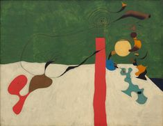 Joan Miró, Nature morte à la lampe, 1928