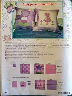 Revista de patchwork para bebe