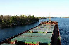 Saint Lawrence Seaway, ''One Thousand Islands'' area by Sea captain Arunas Bruzas, via Flickr