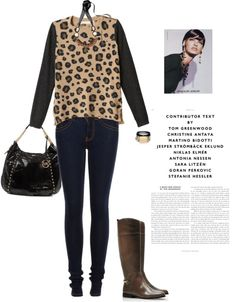 """""""Sweater by REBECCA TAYLOR"""" by fashionmonkey1 ❤ liked on Polyvore"""