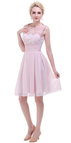Esovr Short Prom Party Bridesmaid Dress With Appliques Ne... http://www.amazon.com/dp/B01E4K7J96/ref=cm_sw_r_pi_dp_5iboxb1DPMMBX
