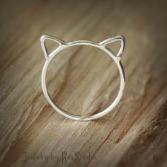 Kitty Ring by Kat Studio. COUPON CODE INCLUDED!