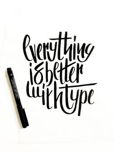 Hand Lettering by Courtney Shelton