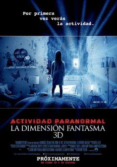 Actividad Paranormal 5: La Dimensión Fantasma - 2015  La dimensión fantasma es el nombre escogido para esta nueva entrega de las ya conocidas películas de terror producidas por Paramount Pictures. Esta vez la historia gira en torno de una joven familia que se ha mudado desde Nueva York hasta California