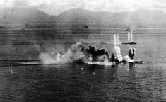 "Leyte Gulf also saw the first use of kamikaze aircraft by the Japanese. The Australian heavy cruiser HMAS Australia was hit on 21 October, and organized suicide attacks by the ""Special Attack Force"" began on 25 October."