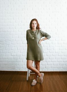 VESTIDO MILITAR LIVE TO ROCK - QUEQUE CLOTHING