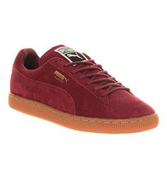 Puma Suede Classic Team Burgundy Gum Exclusive - Unisex Sports