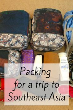 Packing List for Travel to Southeast Asia