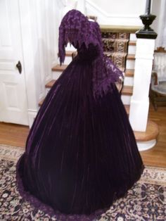 1860s Reproduction  Gone with The Wind  Southern Ball Gown  Designer Debra Cake. $5,000.00, via Etsy.